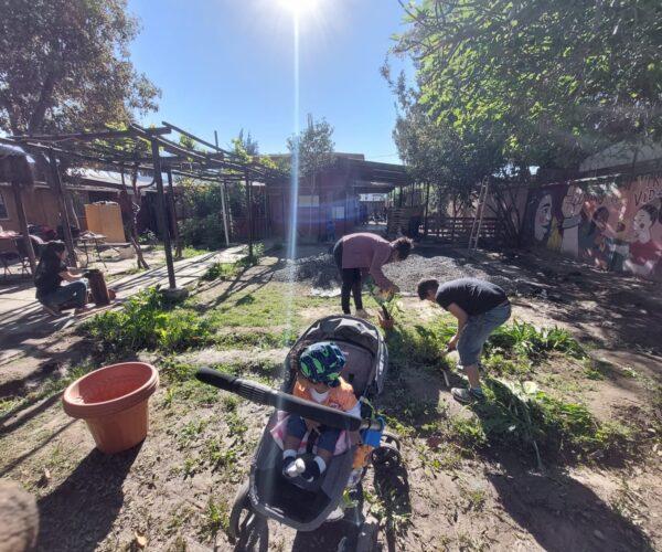 Jornada de voluntariado en Casa de Acogida La Higuera
